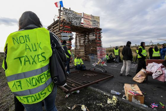 Macron Looks to Tax Measures to Curb Violent French Protests