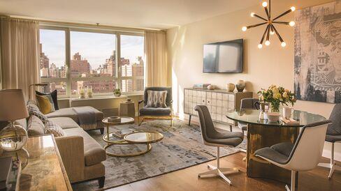 Living Room at Carnegie Park