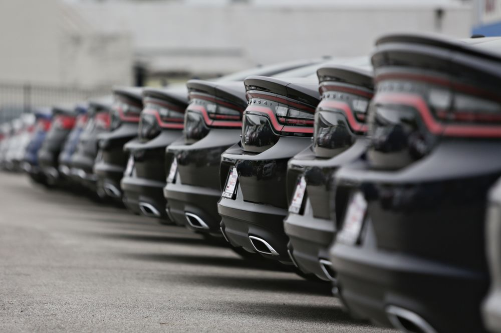 Key Auto Mall >> The All American Muscle Car Will Outlive The Doomed Sedan Bloomberg