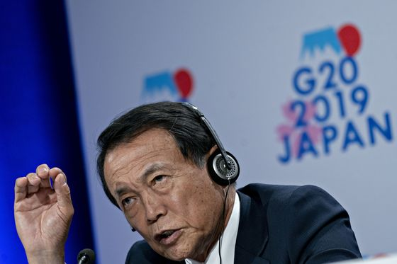 Japan Has Fiscal Stimulus Options If Needed, Aso Says