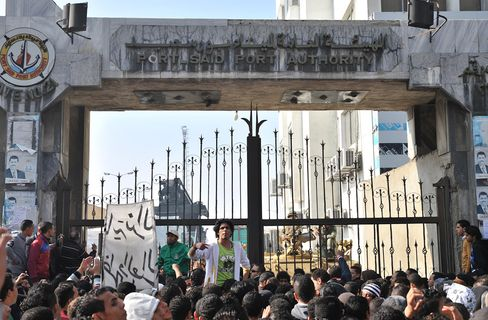 Egypt's Port Said Canal Headquarters Evacuated Amid Fan Protest
