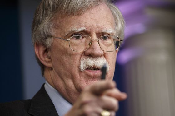 John Bolton Plans to Tell Russia That U.S. Is Keeping North Korea Sanctions