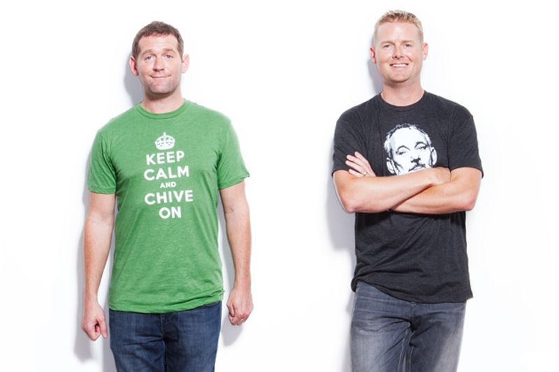 thechive austin office. The Chives Founders John And Leo Resig Master Millennial Thechive Austin Office
