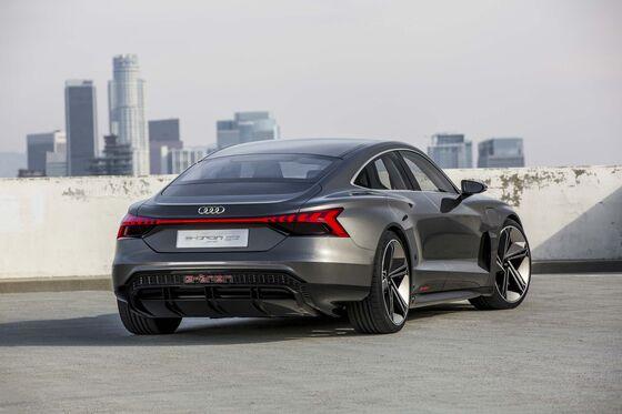 The Audi E-Tron GT Targets Tesla Using Porsche DNA