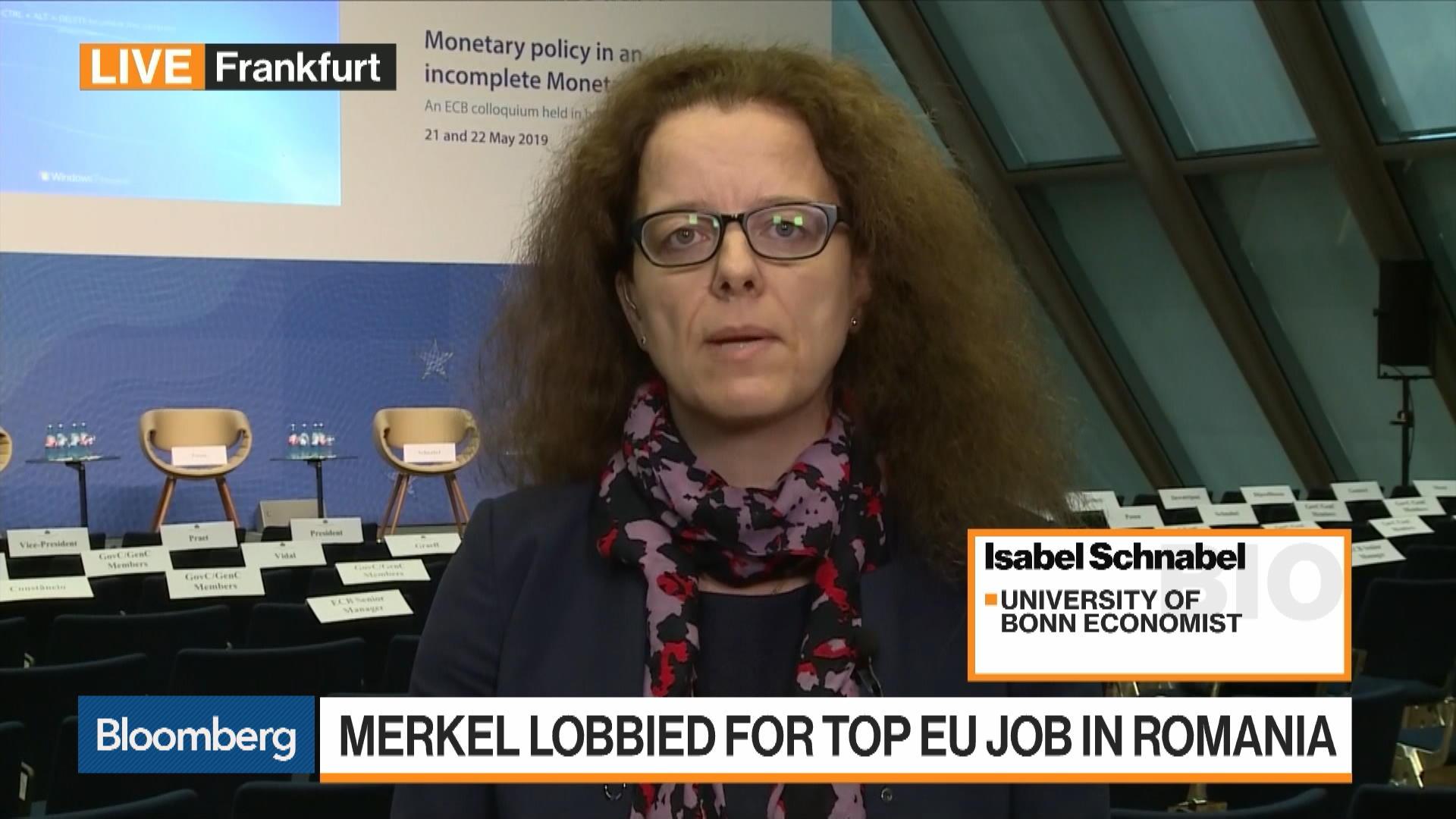 Weidmann Needs to Shift Stance on OMT, German Economic Adviser Schnabel Says