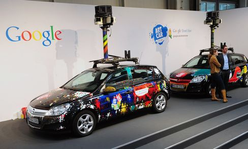 Google Street View Car Halted, Searched Outside Paris