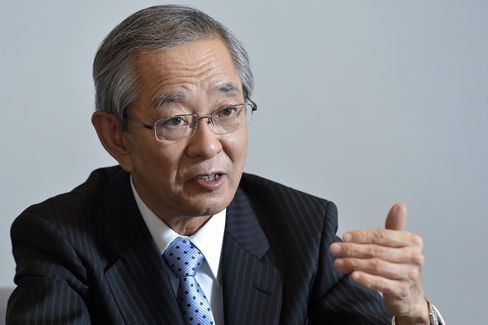 Nikon Corp. President Makoto Kimura