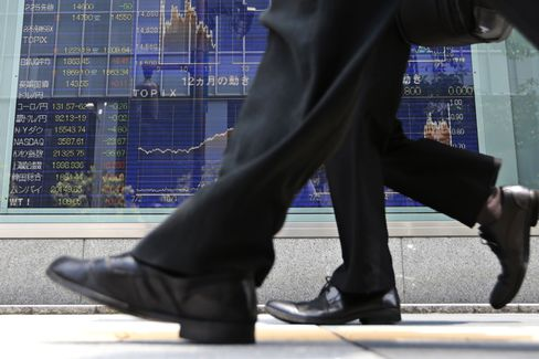 Asian Stocks Trade Near Two-Month High as Fed Concern Eases