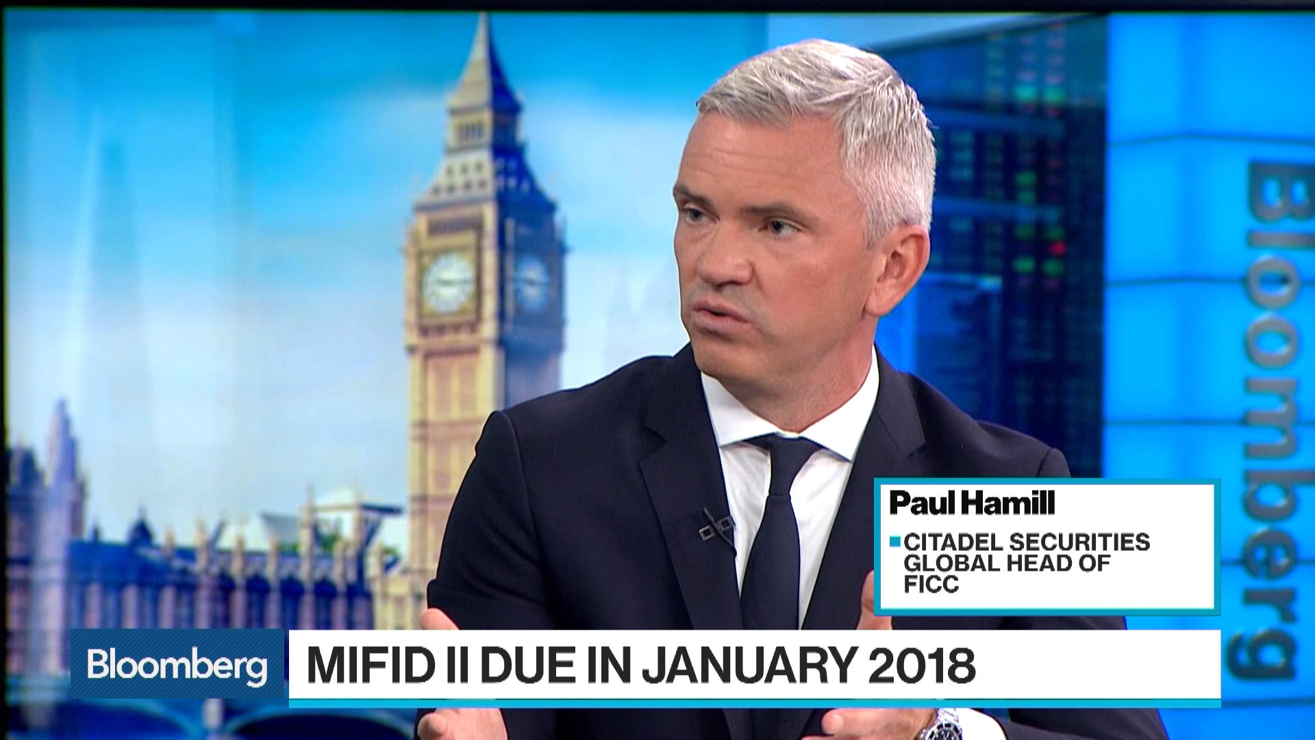 Citadel Securities Sees Risks in EU's MiFid II Overhaul