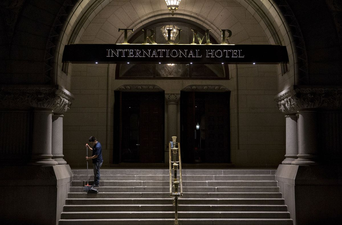 bloomberg.com - More stories by Ben Brody - Trump Fundraiser at Washington Hotel Renews Ethics Questions