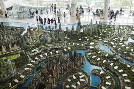 The Forest City project will span four artificial islands.