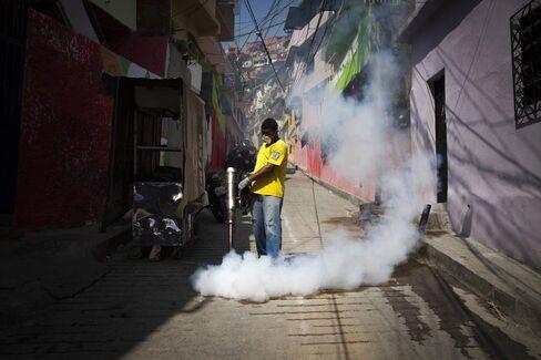 Municipal Workers Fumigate Homes As Spread Of Zika Virus Intensifies