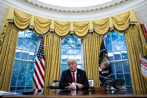 Transcript of President Trump's Interview With Bloomberg News