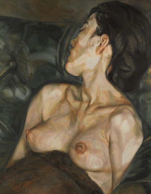 Pregnant Girl by Lucian Freud