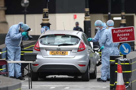 Trump Urges 'Toughness' Against 'Animals' After Parliament Car Crash