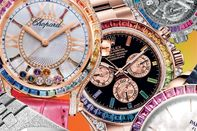 relates to A Precious Rainbow on Your Wrist Is the Latest Flashy Trend in Watches