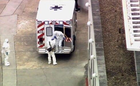 Health Worker Kent Brantly Arrives at Emory University Hospital