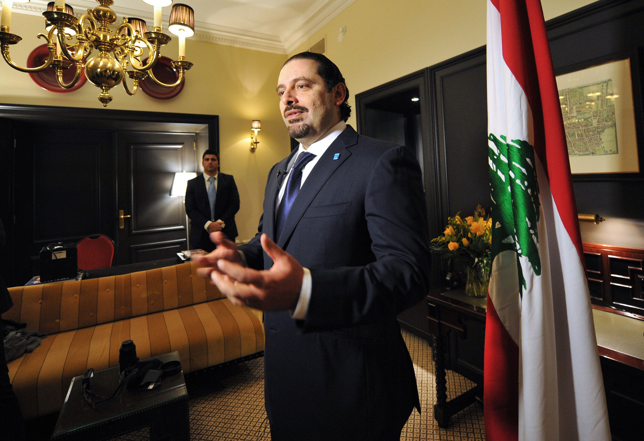 Il premier libanese Saad Hariri. Credits to: AFP/Getty Images.