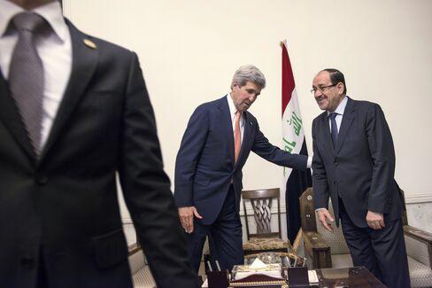 Kerry And Al-Maliki Held Talks