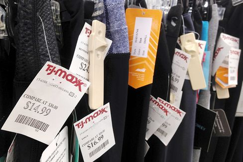 Grinchy Shoppers Can't Spoil TJX's Happily Discounted Holidays