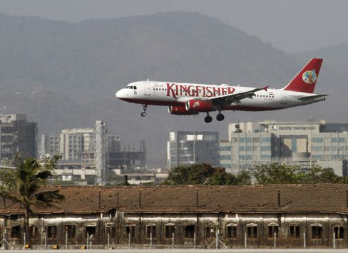 Kingfisher Air Says It's in Talks for Funds After Loss Widens
