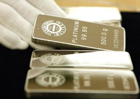 Platinum Set for Worst Year Since 2006