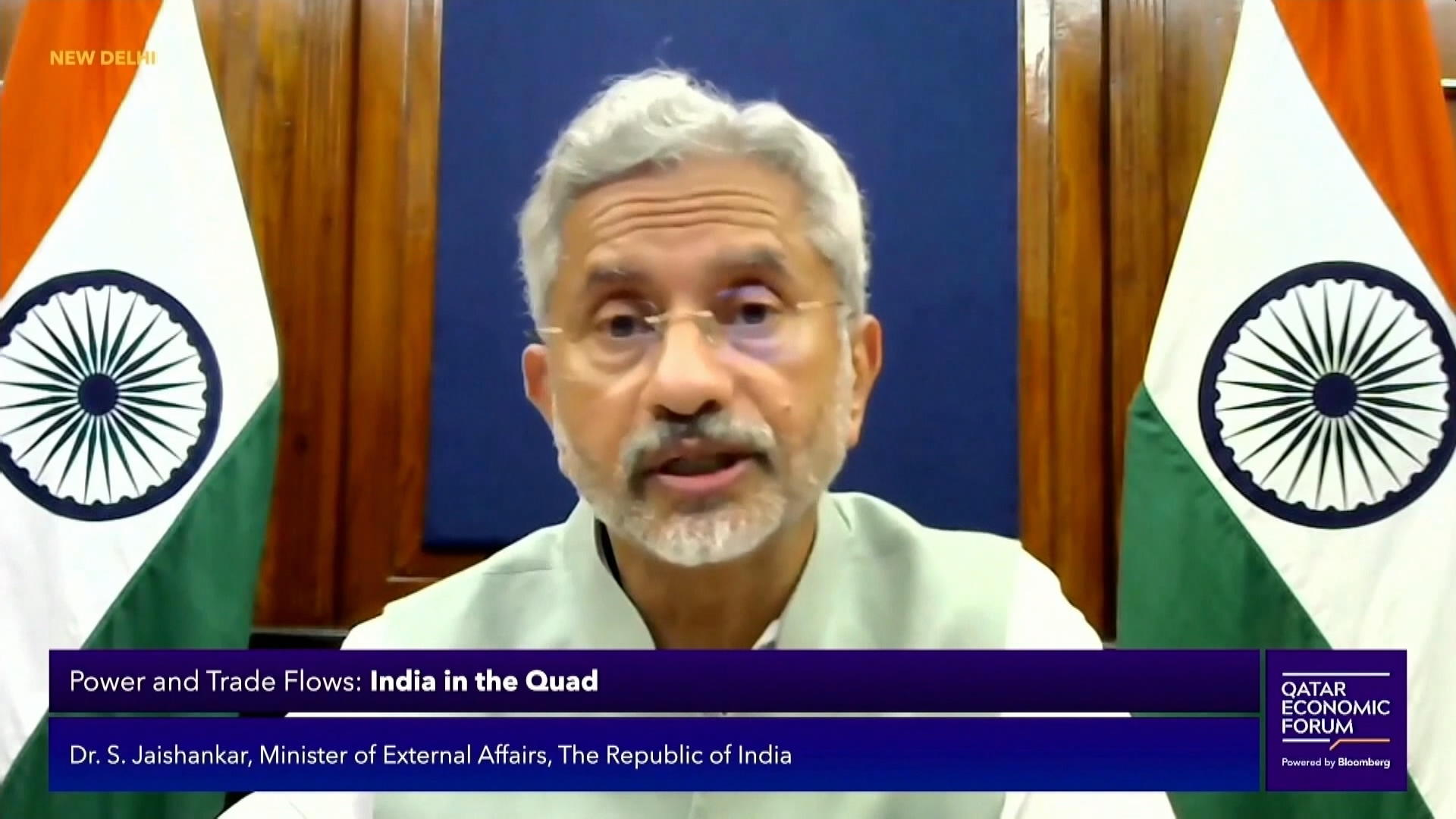 India Minister of External Affairs on Life After Covid