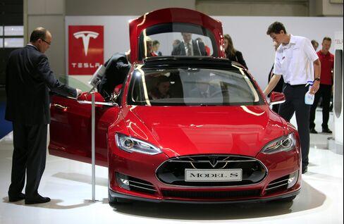 Tesla Model S Automobile