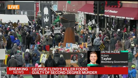 Tension Lifts, Crowd Fills George Floyd Square to Cheer Verdict