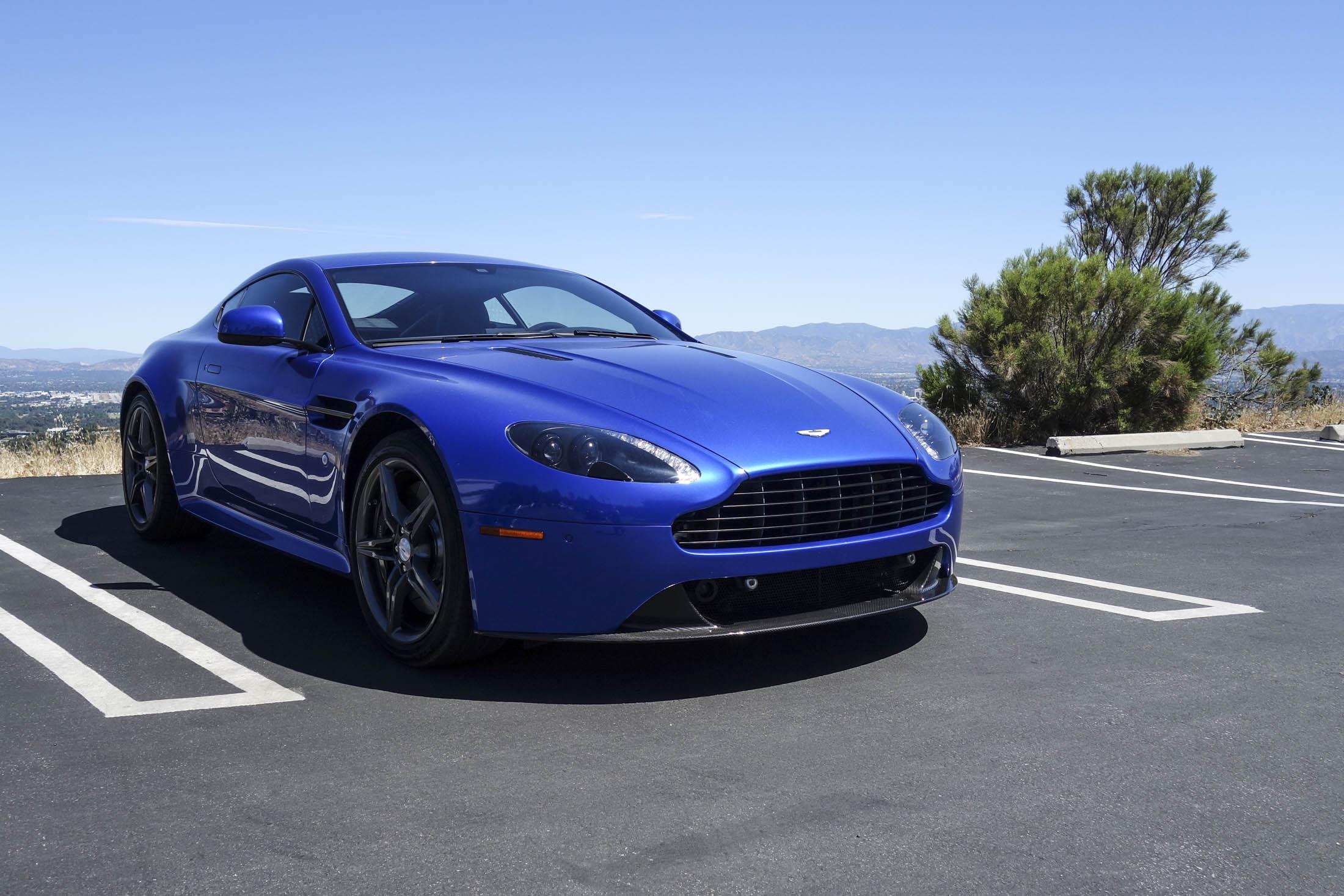The Most Fun to Drive: Aston Martin Vantage GTS