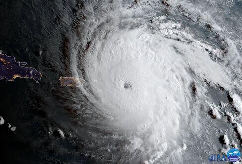 ハリケーン・イルマ(9月6日)
