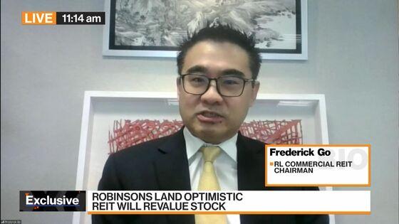 CEO Behind Philippines' Biggest REIT IPOEyes Earnings Rebound in 2022