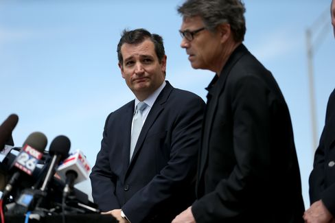 These two Texans—U.S. Senator Ted Cruz and Governor Rick Perry—are both eyeing presidential campaigns.