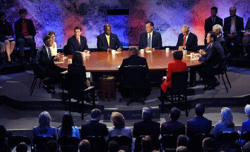 Republicans Stretch Truth in Debate Salvos