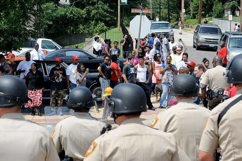 Why Ferguson Looks Like the Inner City