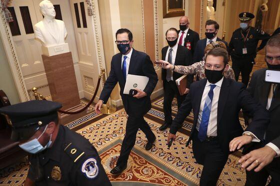 Pelosi Says 'Just About There' on Stimulus; Senate Hurdle Awaits