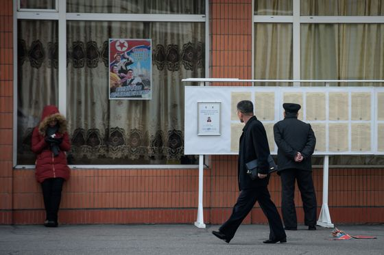North Koreans Vote in Elections for Rubber-Stamp Parliament