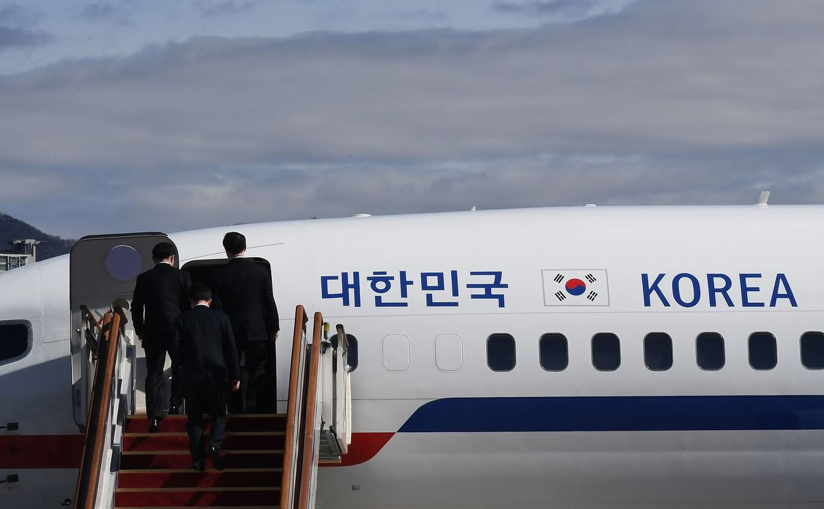North Korean leader Kim Jong Un held talks with top aides to South Korea's Moon Jae-in in Pyongyang on Monday, the president's office said, in the first meeting between the leader of the isolated nation and officials from Seoul since he took power in 2011.