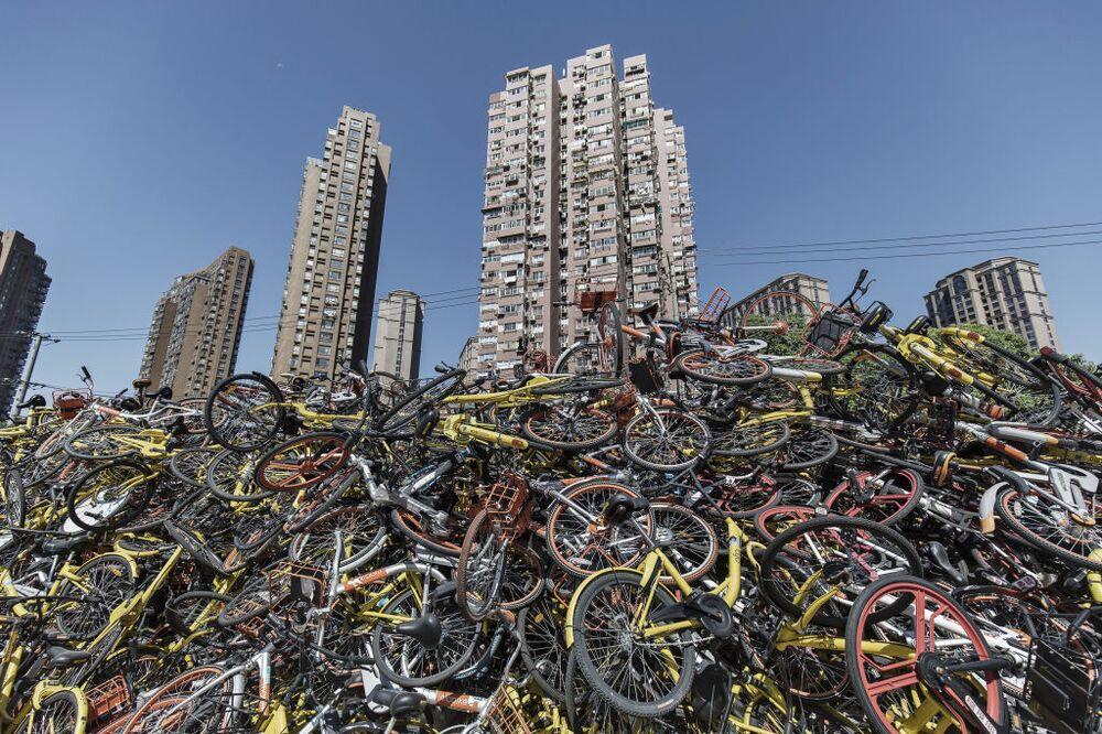 China's Bike-Sharing Bust