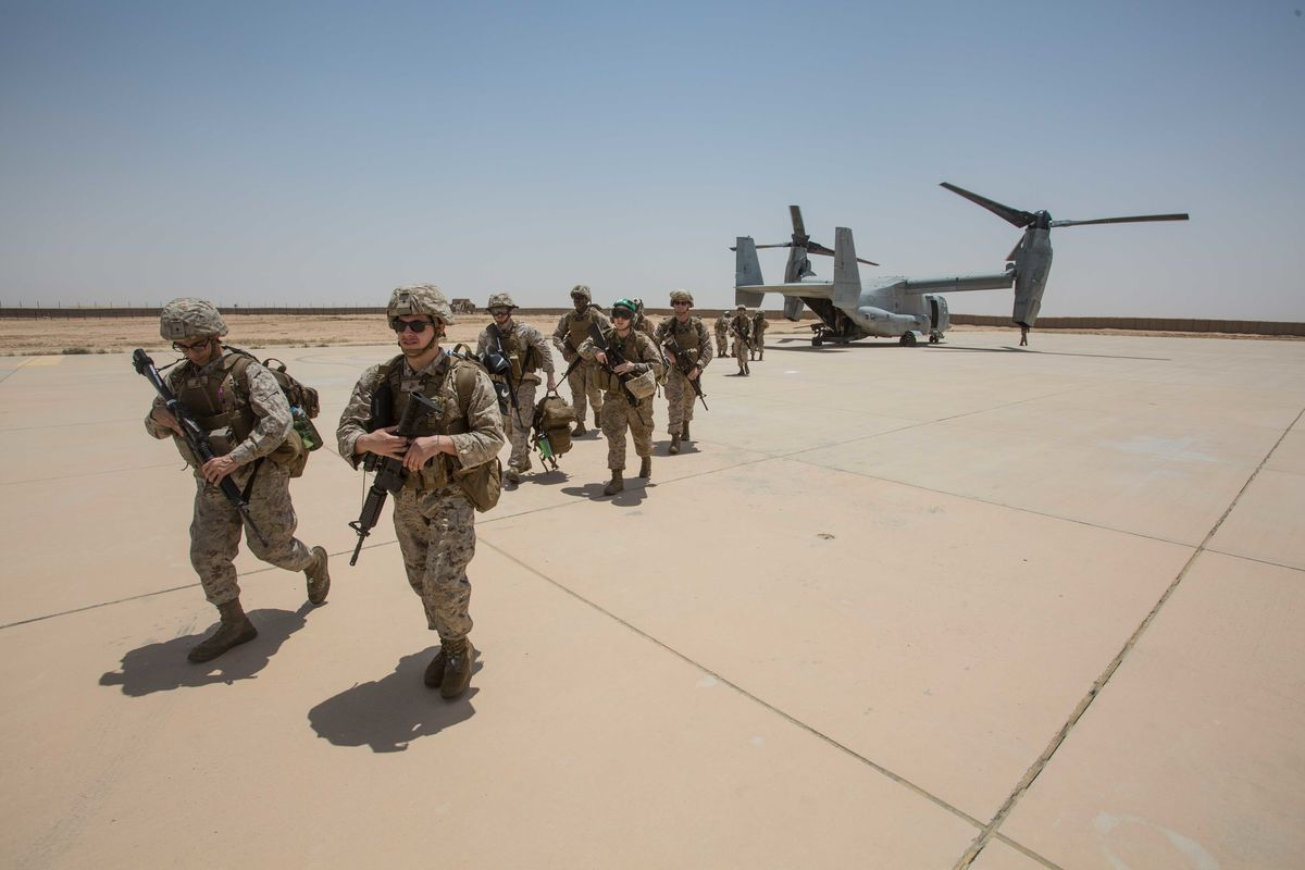 Rockets Hit 2 Iraqi Air Bases Where U.S. Forces Stationed