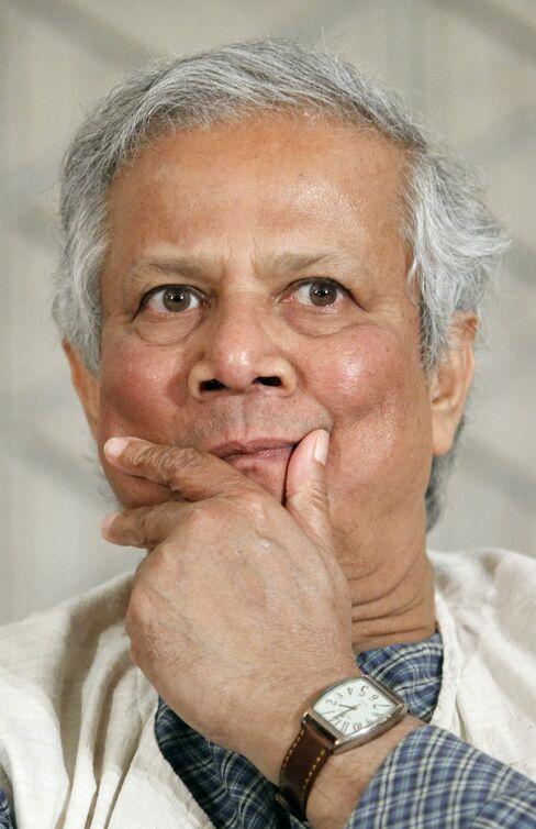 Grameen Bank's Muhammad Yunus