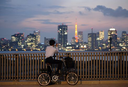 Toyosu Area Of Tokyo