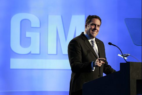 Reuss Walks Tightrope at GM 20 Years After Father's Firing