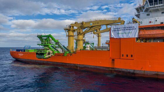 Deep-Sea Mining Robot Lost on Cobalt-Rich Floor of Pacific