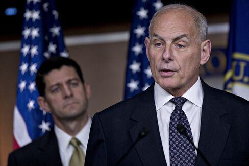 Speaker Ryan, Secretary Kelly Hold News Conference On Immigration Enforcement Legislation