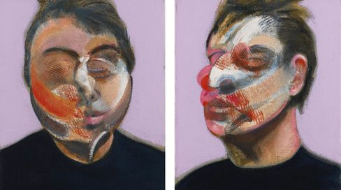 Francis Bacon's Two Studies for Self-Portrait, 1970