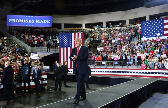 Trump Defends Holding Rally While Hurricane Michael Devastated Florida