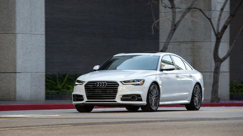 The A6 looks slightly leaner and more distinct than its A4 and A8 brethren.