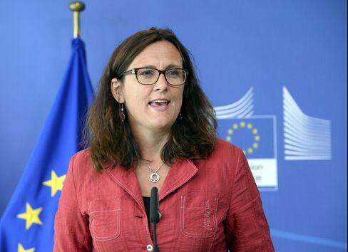 EU Trade Commissioner Cecilia Malmstroem