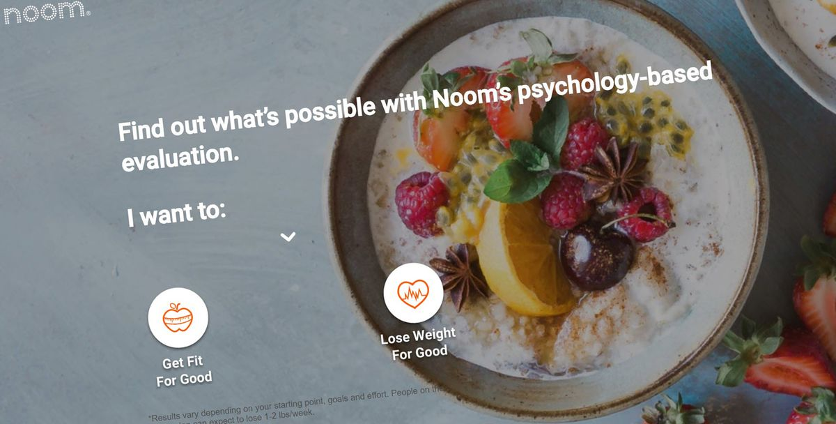 Noom Signs Up Dieters as Investors See New Wins for Weight Loss